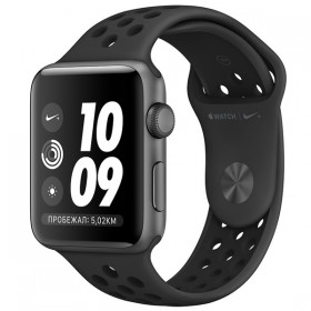 Часы Apple Watch Series 3 38mm Aluminum Case with Nike Sport Band Space Gray/Anthracite/Black